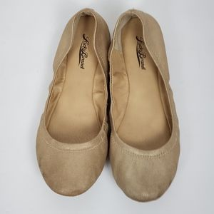 LUKY BRAND Women's flats color gold size 8.5M
